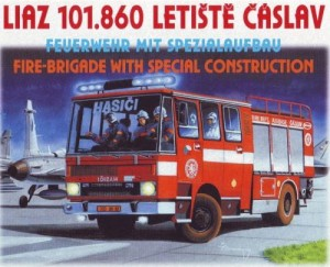 Liaz 101.860 CAS K25 fire engine 1:87 HO / SDV 87079