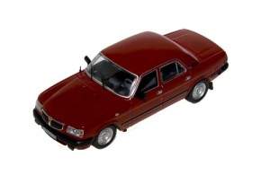 GAZ 3110 1997 dark red 1:43 / ISTMODELS 006
