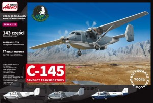 C-145/M28 transport aircraft 1:72 / Aeroplast 90043