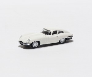 Jaguar E-type white 1:87 HO / Schuco 452627400