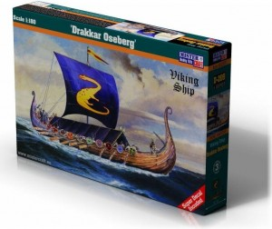 Drakkar Oseberg Viking Ship 1:180