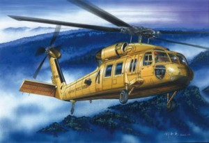 UH-60A BLACKHAWK 1:72 / Hobby Boss 87216