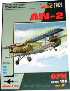 Antonov AN-2 Polish Army 1:33 / GPM 126