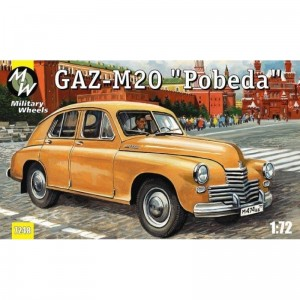 GAZ M-20 Pobieda 1:72 / Military Wheels 7248