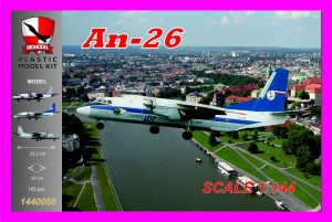 An-26  PLL LOT Cargo 1:144 / BIG MODEL 1440056