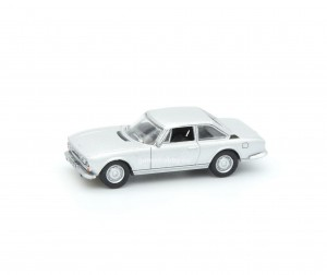 Peugeot 504 Coupe 1971 Silver 1:87 HO / Norev 475462