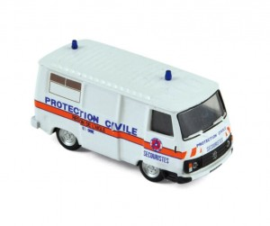 Peugeot J9 1987 Protection Civile 1:87 HO / Norev 472112