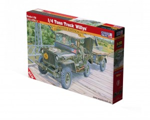 1/4 Tonn Truck Willys jeep 1:72