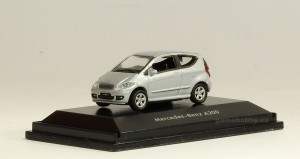 Mercedes A 200, silver 1:87 HO / Welly 73110
