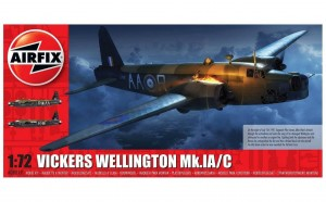 Vickers Wellington Mk.IA/C 1:72 / Airfix 08019