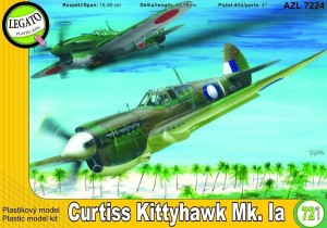 Curtiss Kittyhawk Ia 1:72 / AZ Model Legato 7224
