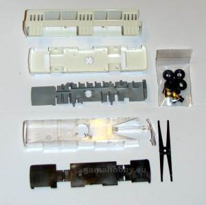 IKARUS 260 kit, white 1:87 HO