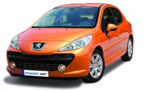 Peugeot 207 1:24 / Welly