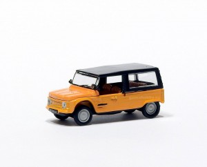 Citroen Mehari 1983 orange 1:87 HO / Norev 150950