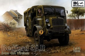 Bedford QLR 3-ton 4x4 Wireless 1:72 / IBG 72002