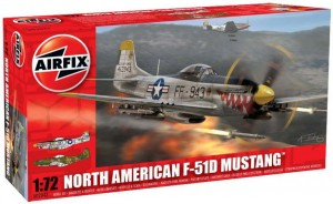 Morth American F-51D MUSTANG 1:72 / Airfix 02047