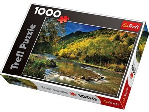 Arrow River, Nowa Zelandia, puzzle 1000