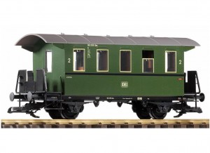 G-DB III 2-Axle 2. Cl. Coach, Green