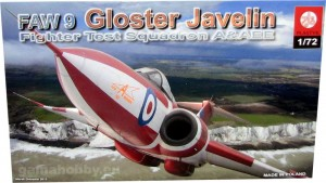 Gloster Javelin FAW 9 Fighter Test Squad 1:72