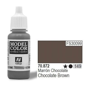 Vallejo Model Color 70.872 chocolate brown 149 farba akrylowa 17ml