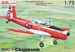 DHC-1 Chipmunk 1:72 / AZ Model 7650