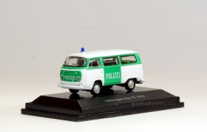 Volkswagen T2 bus, Polizei 1:87 HO / Welly 73112