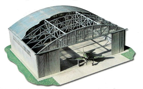 Hangar lotniczy 1 72 laser for Pianificatore di layout di garage