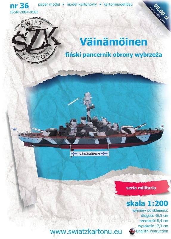 Vainamoinen battleship 1:200 gamahobby eu